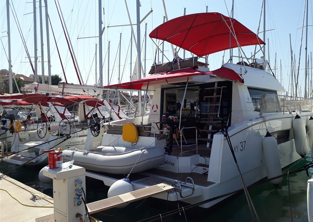 Fountaine Pajot MY 37 - 3 cab. (MY holiday)  - 1