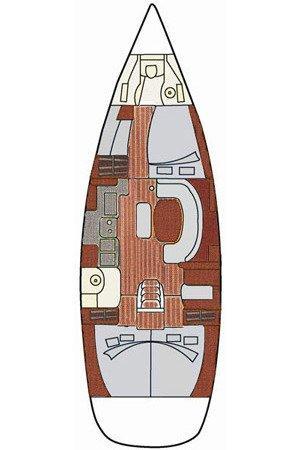 Oceanis Clipper 411 - 3 cab. (Dora)  - 1
