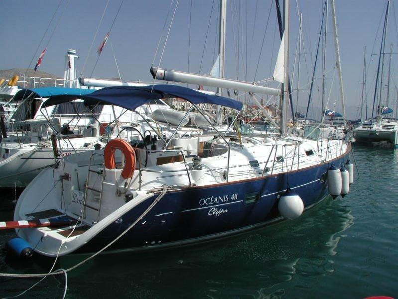 Oceanis Clipper 411 - 3 cab. (Dora)  - 3