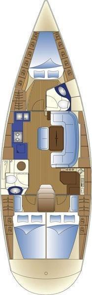 Bavaria 42 Cruiser (Blue Queen)  - 1