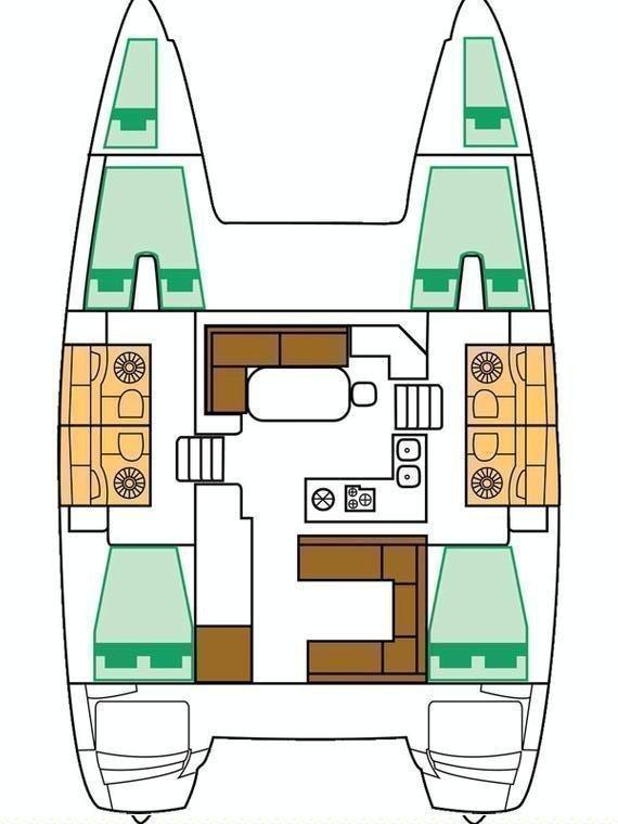 Lagoon 400 S2 - 4 + 2 cab. (Second Wind)  - 1