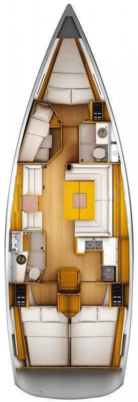 Sun Odyssey 449 (Port Royal)  - 1