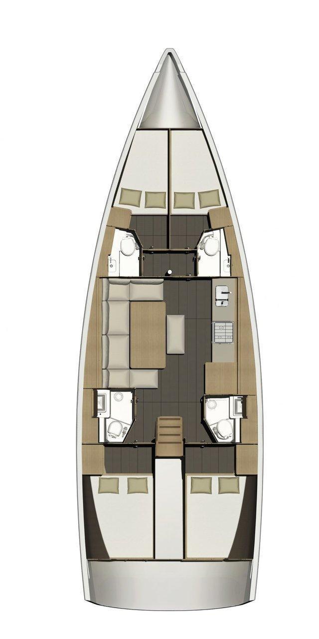 Dufour 460 GL (Esra)  - 1