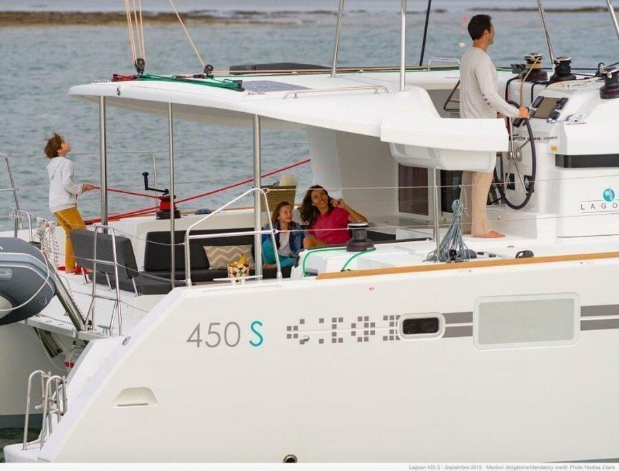 Lagoon 450 - 4 + 2 cab. (Saga)  - 3