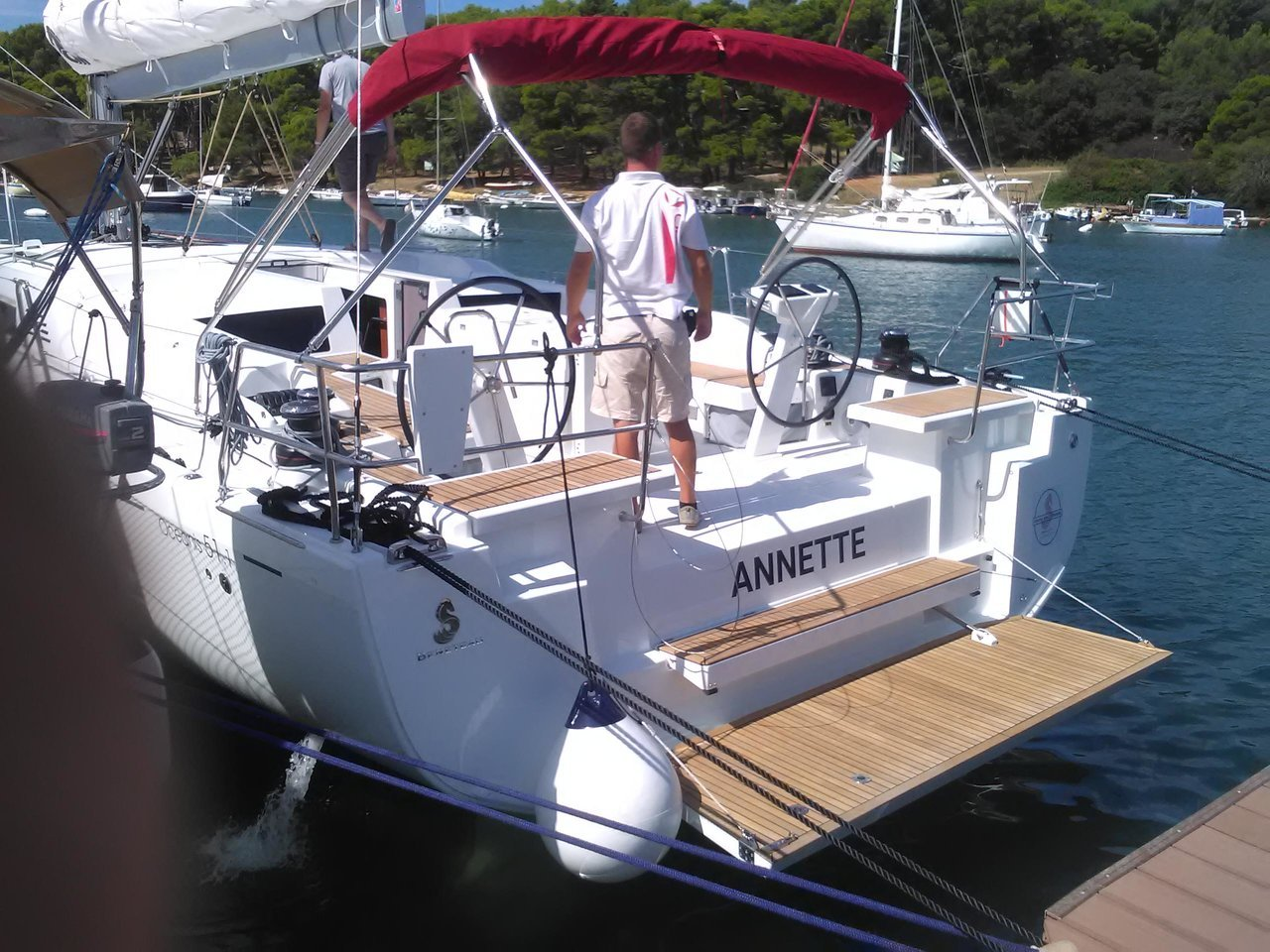 Oceanis 51.1 (Annette with AC and generator)  - 2
