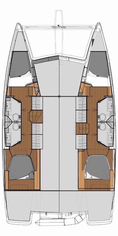 Fountaine Pajot Lucia 40 (Bella IV )  - 1