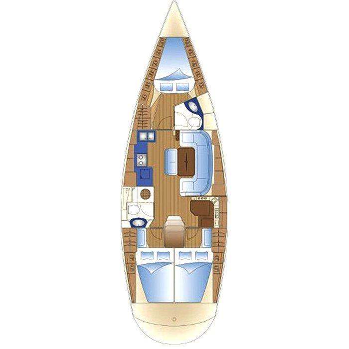 Bavaria 42 Cruiser (Iraklis)  - 1