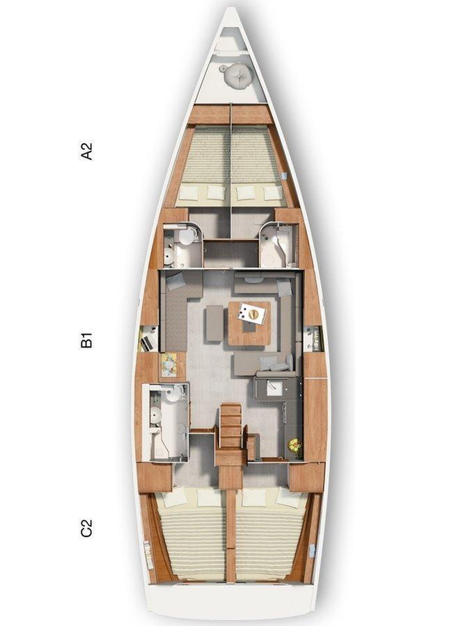 Hanse 455 (Maja I)  - 1