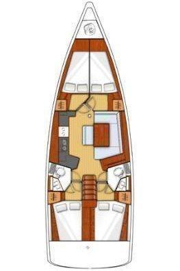 Oceanis 45 - 4 cab. (Cancan)  - 1