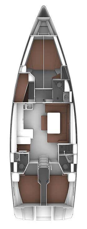 Bavaria Cruiser 51 (Vela Tonka)  - 1
