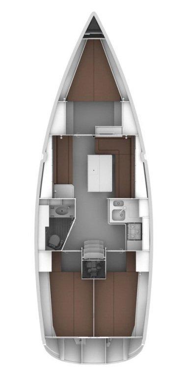 Bavaria Cruiser 36 (Pišćena)  - 1