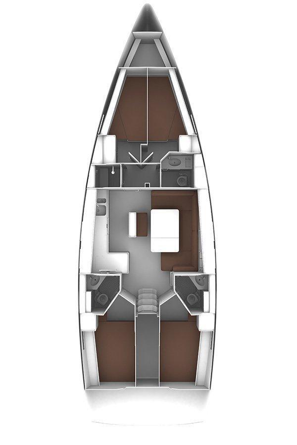 Bavaria Cruiser 46 - 4 cab. (Tequila)  - 1
