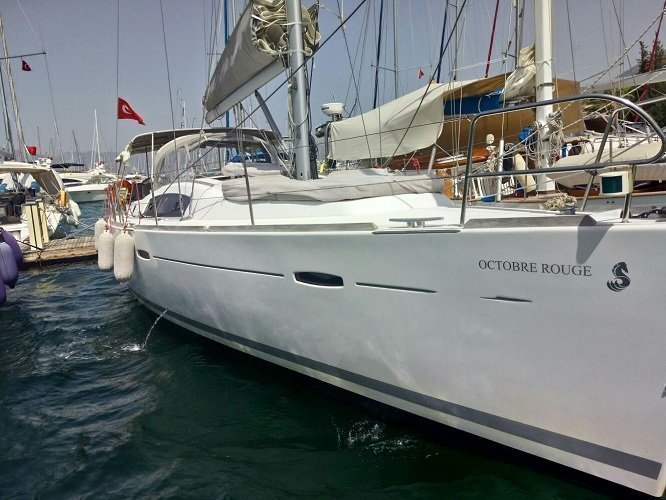 Oceanis 43 Family - 4 cab. (Octobre Rouge)  - 4