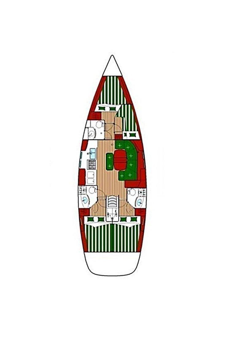 Oceanis 423 (Thalassa)  - 1