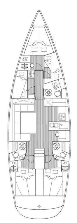 Bavaria 51 Cruiser (MH 22)  - 1