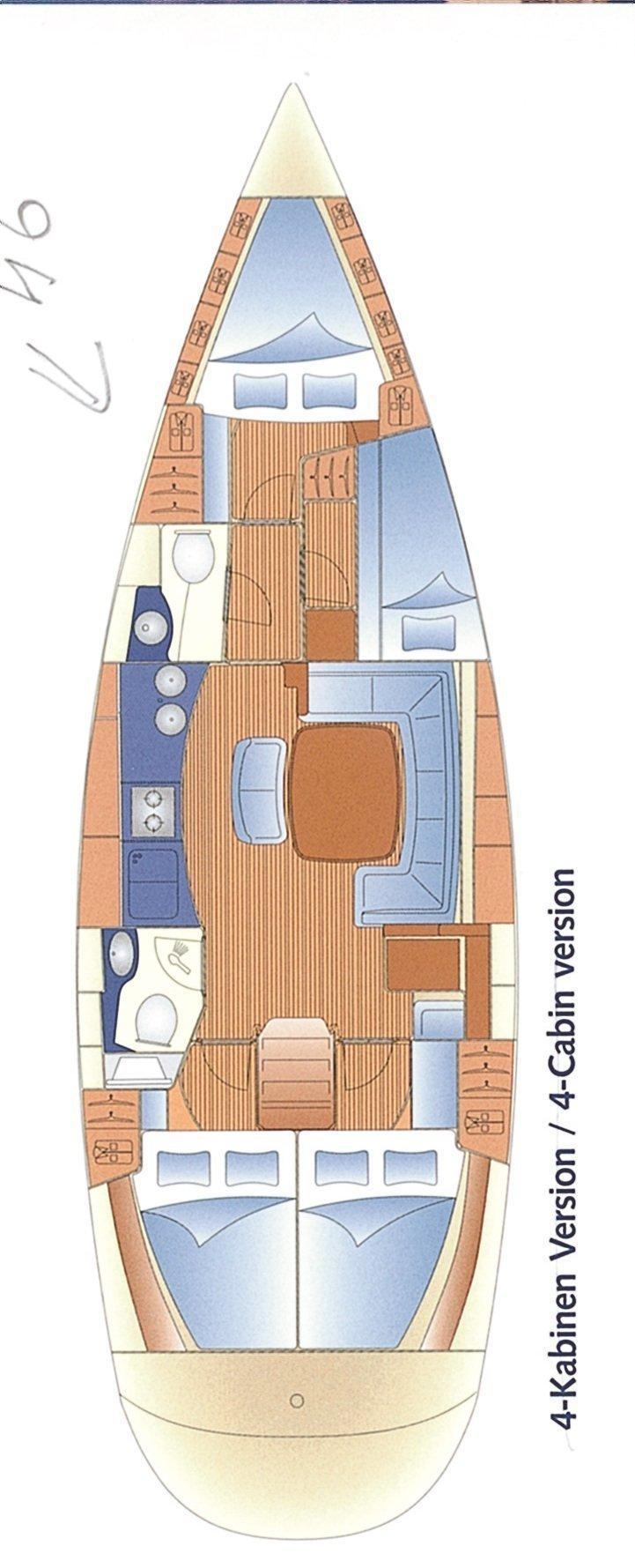 Bavaria 46 Cruiser (Maestral)  - 1