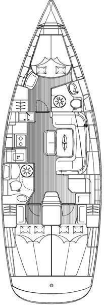 Bavaria 39 Cruiser (Aretousa)  - 1