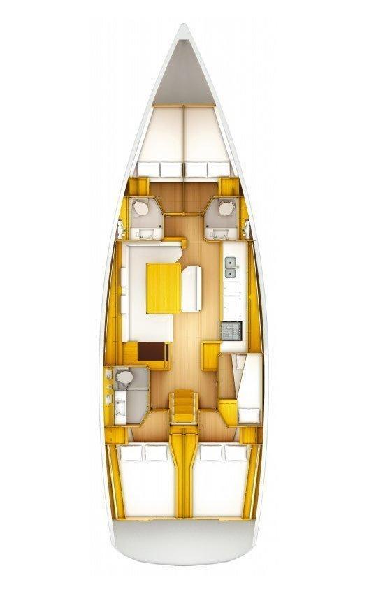 Sun Odyssey 509 - 5 cab. (Caterina)  - 1