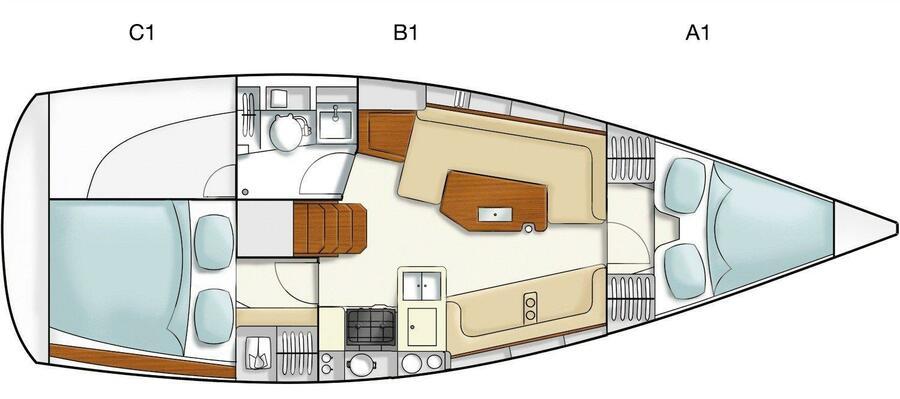 Hanse 325 (Selini)  - 2