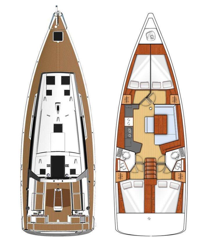 Oceanis 45 - 4 cab. (Neška II)  - 1