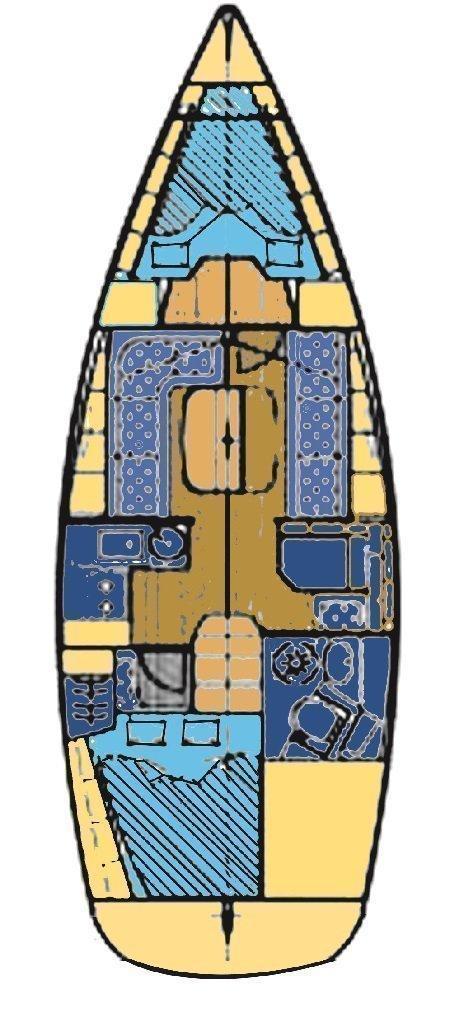Bavaria 33 Cruiser (Frana)  - 1