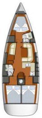 Sun Odyssey 42i (Vispera)  - 1