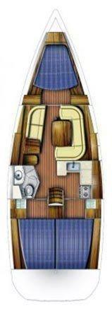 Sun Odyssey 39i (Cabiria)  - 1