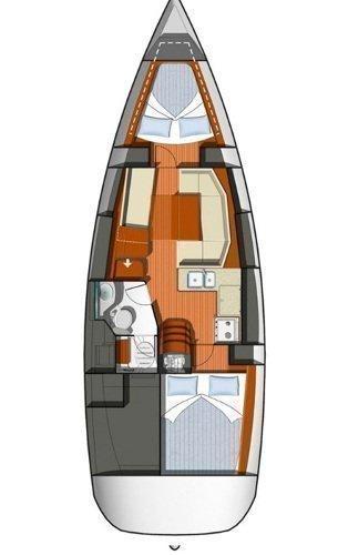 Sun Odyssey 36i - 2 cab. (Schnecke)  - 1
