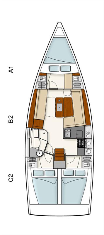 Hanse 385 (Tino)  - 1