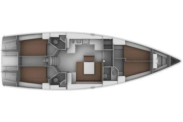 Bavaria Cruiser 45 - 4 cab. (Johnny)  - 12