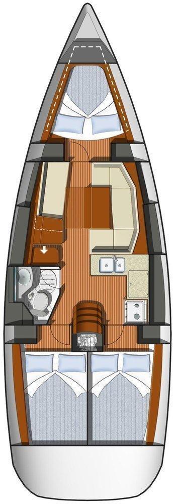 Sun Odyssey 36i (Izella)  - 1