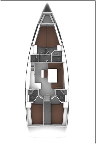 Bavaria Cruiser 46 - 4 cab. (Srna V)  - 1
