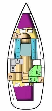 Oceanis Clipper 323 (Mala Maja)  - 1