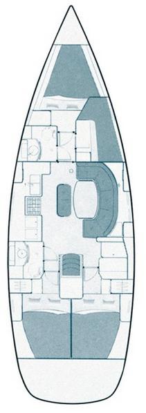 Oceanis Clipper 411 - 4 cab. (Ana Marija)  - 2