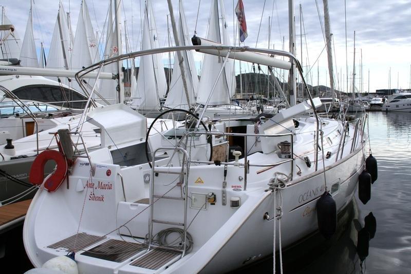 Oceanis Clipper 411 - 4 cab. (Ana Marija)  - 4