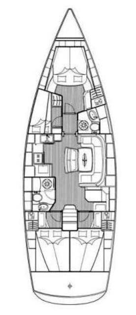 Bavaria 46 Cruiser (Žlahtina)  - 1