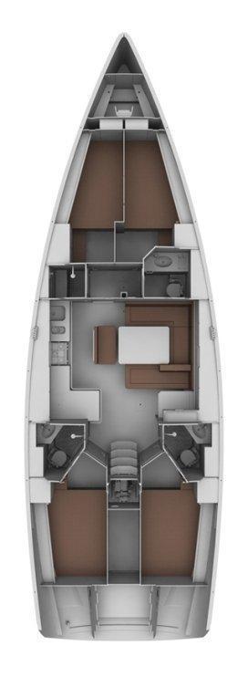 Bavaria Cruiser 45 - 4 cab. (Albatros)  - 1