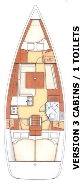 Oceanis 45 - 3 cab. (Lighea)  - 1