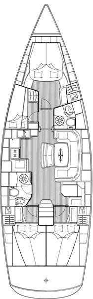 Bavaria 46 Cruiser (Ege)  - 1