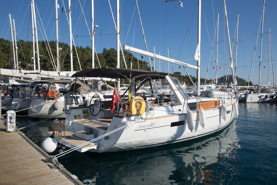 Oceanis 45 - 3 cab. (Dianora)  - 2