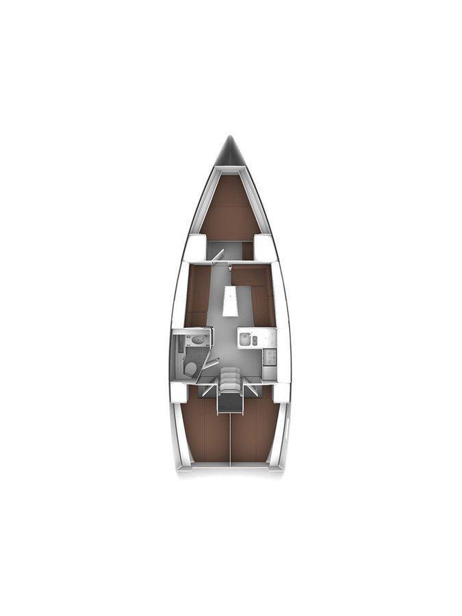 Bavaria Cruiser 37 - 3 cab. (Baby Panda- A/C (sh power), underwater lights)  - 1