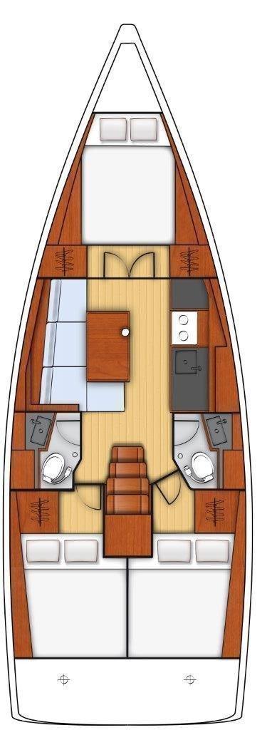 Oceanis 38.1 (Ariela)  - 9