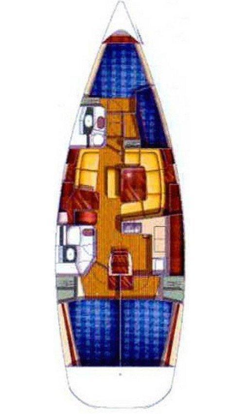 Sun Odyssey 43 - 3 cab. (Mantiz)  - 1