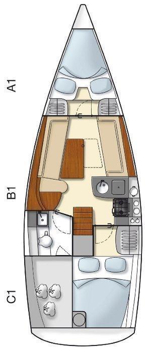 Hanse 325 (H325-12G-S)  - 1