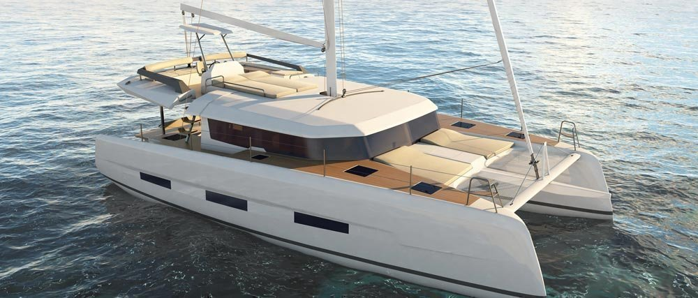 Dufour 48 Catamaran - 4 + 2 cab. (LER - BLUE HULL, A/C+GEN., UNDERWATER LIGHTS)  - 0