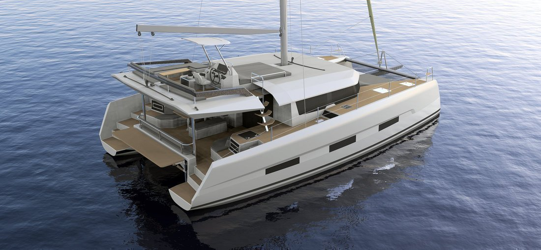 Dufour 48 Catamaran - 4 + 2 cab. (LER - BLUE HULL, A/C+GEN., UNDERWATER LIGHTS)  - 10