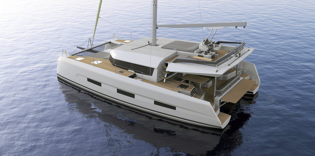 Dufour 48 Catamaran - 4 + 2 cab. (LER - BLUE HULL, A/C+GEN., UNDERWATER LIGHTS)  - 11