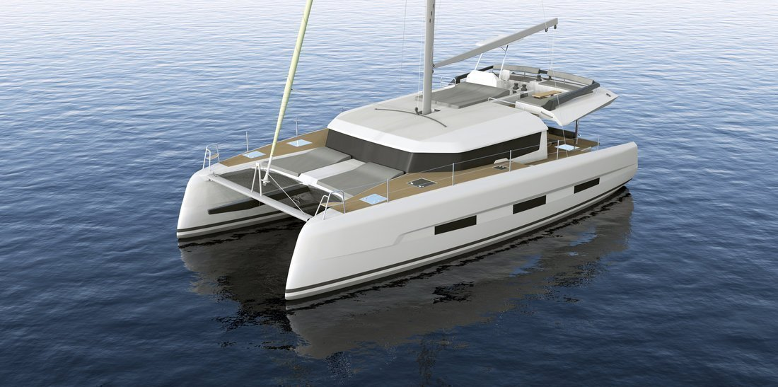 Dufour 48 Catamaran - 4 + 2 cab. (LER - BLUE HULL, A/C+GEN., UNDERWATER LIGHTS)  - 12