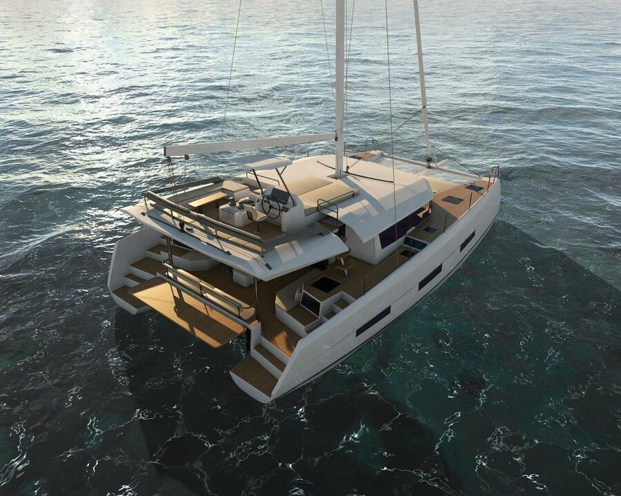 Dufour 48 Catamaran - 4 + 2 cab. (SHU - BLUE HULL, A/C+GEN., UNDERWATER LIGHTS)  - 2