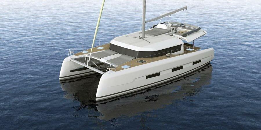 Dufour 48 Catamaran - 4 + 2 cab. (SHU - BLUE HULL, A/C+GEN., UNDERWATER LIGHTS)  - 4